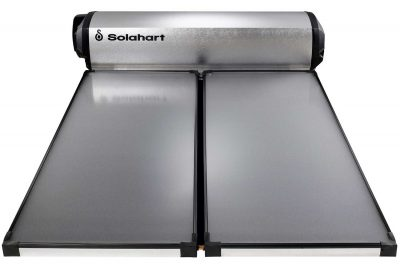 LCS Series roof mounted solar hot water system from Solahart Brisbane West & Ipswich