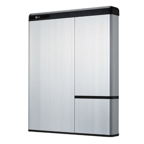 The LG CHem Resu10h is a stylish battery storage system available from Solahart to store excess solar energy from your PV system